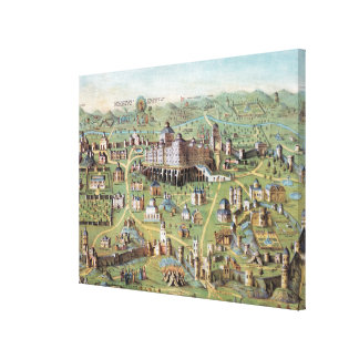 ANCIENT JERUSALEM CANVAS PRINT