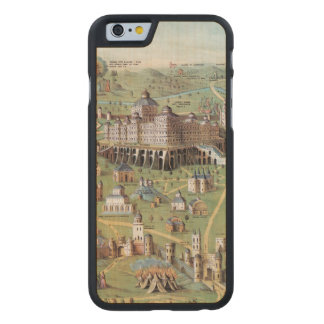 ANCIENT JERUSALEM CARVED® MAPLE iPhone 6 CASE