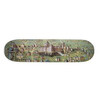 ANCIENT JERUSALEM SKATE BOARD DECK