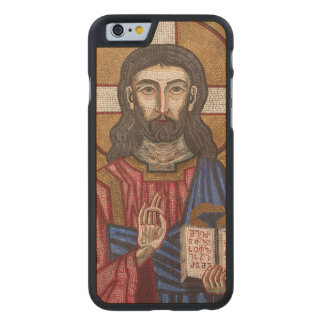 Ancient Jesus Mosaic Carved Maple iPhone 6 Case