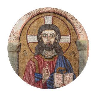 Ancient Jesus Mosaic Cutting Board