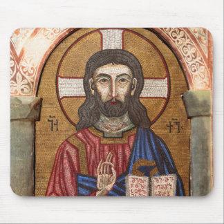 Ancient Jesus Mosaic Mouse Pad