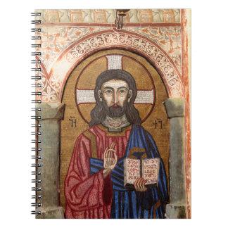 Ancient Jesus Mosaic Notebook
