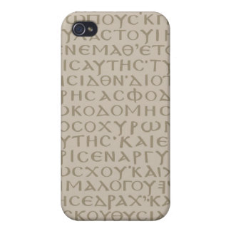 Ancient Koine Scripture Cases For iPhone 4