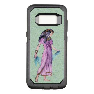 Ancient Lady from Egypt Gold Trimmed Purple dress OtterBox Commuter Samsung Galaxy S8 Case