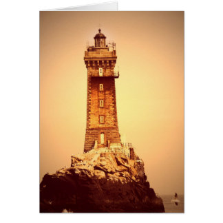 Ancient Lighthouse Greeting Card