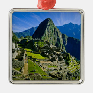 Ancient Machu Picchu, last refuge of the 2 Metal Ornament