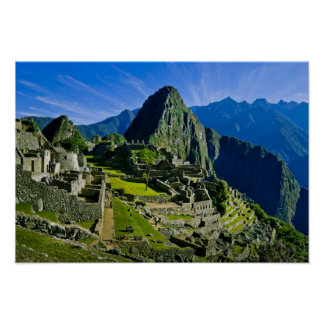 Ancient Machu Picchu, last refuge of the 2 Poster