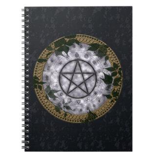 Ancient Magic Pagan Pentacle Notebook