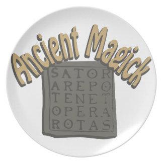 Ancient Magick Dinner Plates