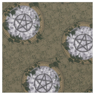 Ancient Magick Pagan Pentacle Altar Cloth Fabric