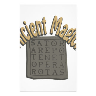 Ancient Magick Stationery Design