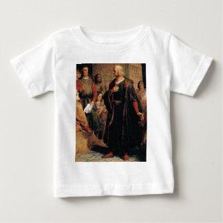 ancient man in black robe baby T-Shirt