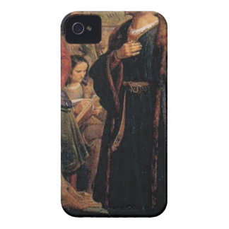 ancient man in black robe Case-Mate iPhone 4 case