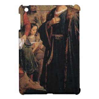 ancient man in black robe iPad mini covers