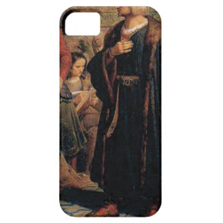 ancient man in black robe iPhone 5 cover