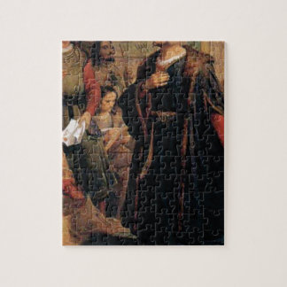 ancient man in black robe jigsaw puzzle