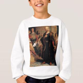 ancient man in black robe sweatshirt
