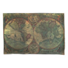 Ancient Map (1 side) Pillowcase