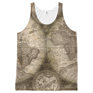 Ancient Map Tank Top