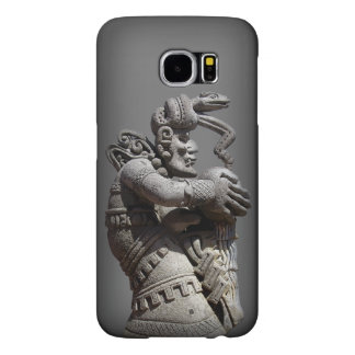 Ancient Maya Statue Samsung Galaxy S6 Cases