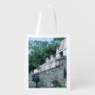 Ancient Mayan City Copan Honduras Photo Print Tote