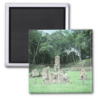 Ancient Mayan Ruins Copan N.W. Honduras Photo Magnet