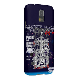 Ancient Mayan Space Traveller Astronaut Palenque Galaxy S5 Cases