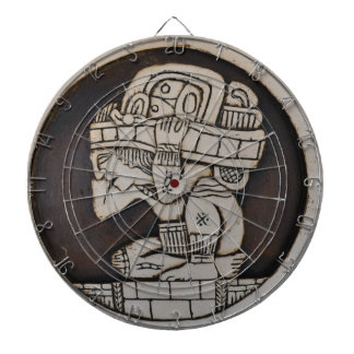 Ancient Mayan Warrior Dartboard