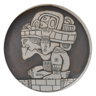Ancient Mayan Warrior Party Plate
