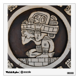Ancient Mayan Warrior Wall Sticker