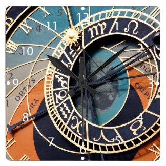 Ancient Medieval Astrological Clock Czech