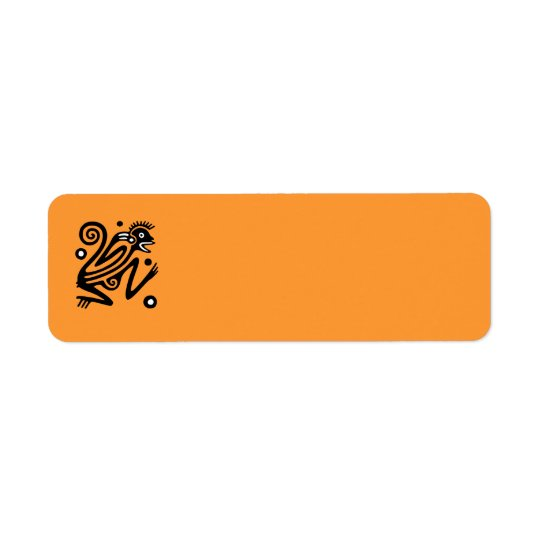 Ancient Mexican Return Address Avery Label