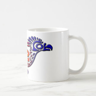 Ancient Mexico Design Road Runner Coffee Mug