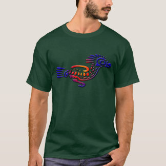 Ancient Mexico Design Road Runner T-Shirt