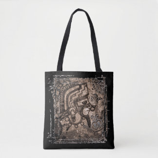 Ancient Mexico Tote Bag