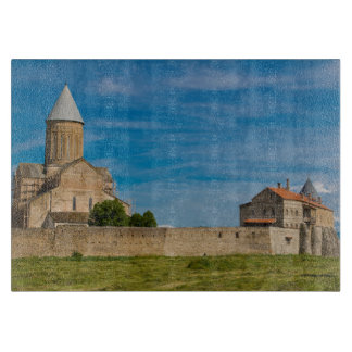 Ancient Monastery Exterior Cutting Board