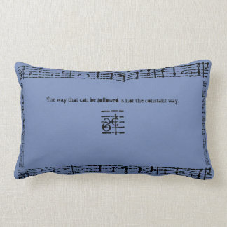 Ancient Music Lumbar Pillow