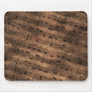 Ancient Music Sheet Mousemat Mouse Pad
