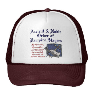 Ancient & Noble Order of Vampire Slayers Hat
