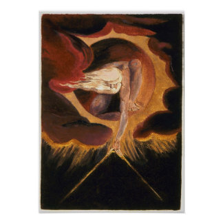 Ancient of Days - William Blake Poster