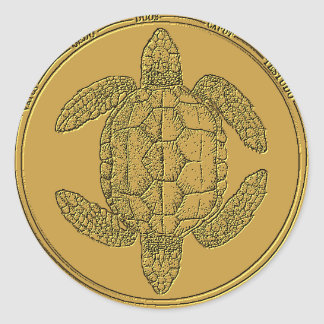 Ancient Order of the Two-Headed Turtles Sticker