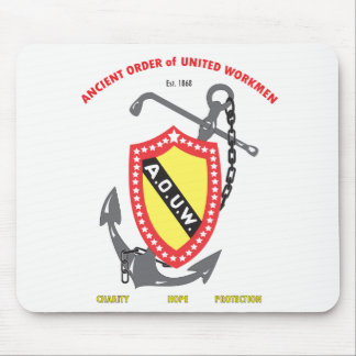 ANCIENT ORDER OF UNITED WORKMEN MOUSE PAD