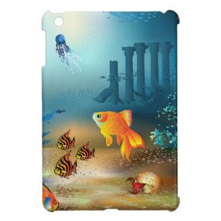 Ancient Pillars of Atlantis, Fish & Sea Life Cover For The iPad Mini