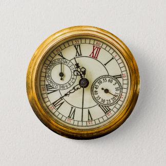 Ancient Pocket Watch 2 Inch Round Button