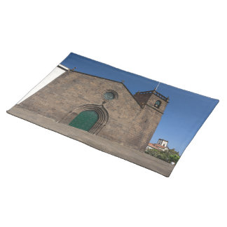 Ancient portuguese catholic church placemat