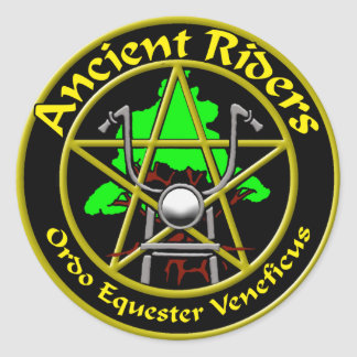 Ancient Riders 3 in. Sticker
