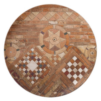 Ancient Roman Brick Work Plates