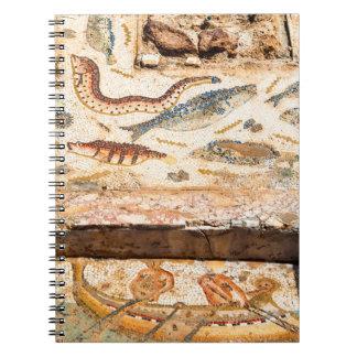 Ancient Roman Mosaic Notebooks