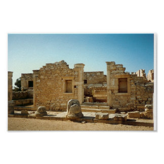 Ancient Ruin in Cyprus Poster